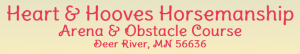 Heart Hooves Horsemanship Arena Obstacle Course