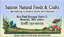 Sunrise Natural Foods